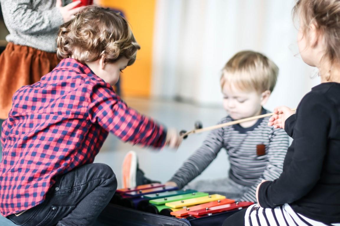 Muziek workshop kinderdagverblijf Utrecht IJsselstein Nieuwegein